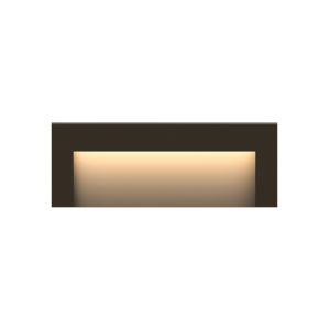 Taper Bronze Eight-Inch ADA LED Outdoor Step Light