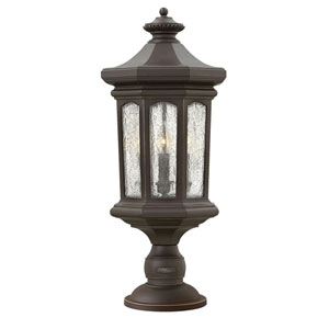 Raley Oil Rubbed Bronze Four-Light LED Outdoor Post Mount