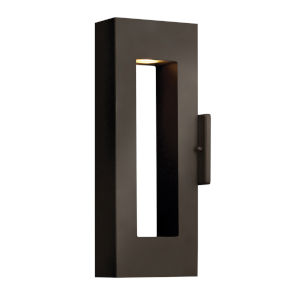 Atlantis Bronze Two-Light LED 16-Inch Outdoor Wall Mount