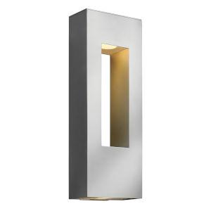 Atlantis Titanium Two-Light LED 9-Inch Outdoor Wall Mount