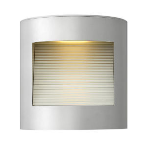 Luna Titanium LED Outdoor Wall Mount