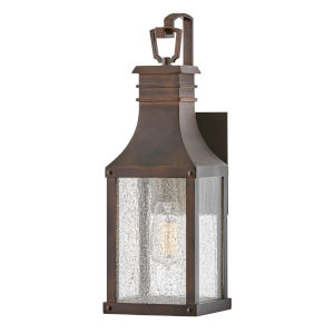 Beacon hill Blackened Copper One-Light Outdoor Wall Mount