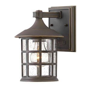 Freeport Oil Rubbed Bronze Six-Inch One-Light Wall Mount