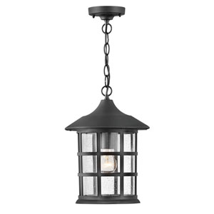 Freeport Textured Black One-Light Outdoor Lantern