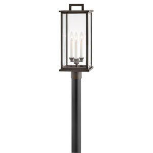 Weymouth Oil Rubbed Bronze Three-Light Outdoor Post Mount