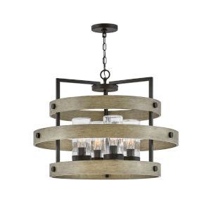 Riverwood Warm Bronze Four-Light Outdoor Pendant