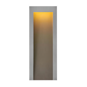 Taper Textured Graphite Nine-Inch Led Outdoor Wall Mount