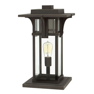 Manhattan Oil Rubbed Bronze LED Outdoor Pier Mount