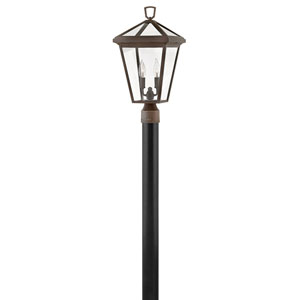 Alford Place Oil Rubbed Bronze Two-Light LED Outdoor Post Mount
