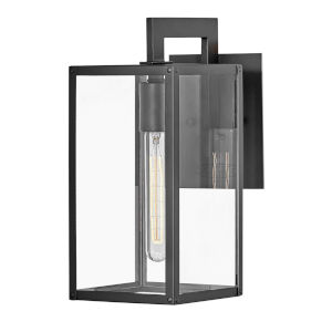 Max Black One-Light 13-Inch Outdoor Wall Mount