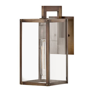 Max Burnished Bronze One-Light 13-Inch Outdoor Wall Mount