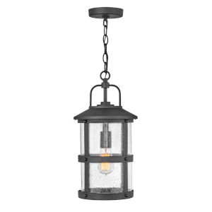 Lakehouse Black One-Light Outdoor Pendant