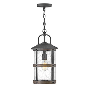 Lakehouse Aged Zinc One-Light Outdoor Pendant