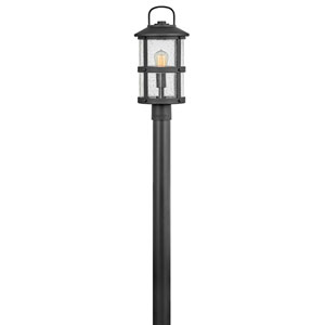 Lakehouse Black LED Outdoor Post Mount