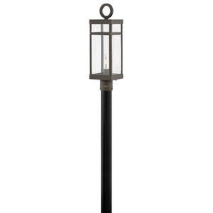 Porter Oil Rubbed Bronze LED Outdoor Post Mount