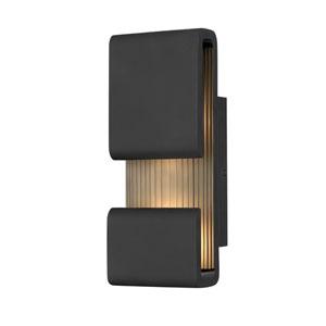 Contour Black Five-Inch LED Wall Mount