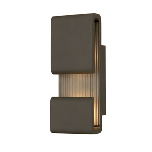 Contour Oil Rubbed Bronze Five-Inch LED Wall Mount