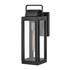 Sag Harbor Black 16-Inch One-Light Outdoor Wall Mount