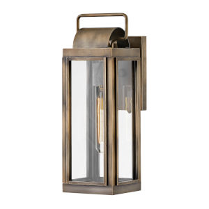 Sag harbor Burnished Bronze One-Light 16-Inch Outdoor Wall Mount