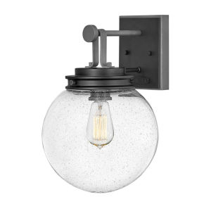 Jameson Black 10-Inch One-Light Outdoor Wall Mount