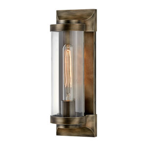 Pearson Burnished Bronze 14-Inch One-Light Outdoor Wall Mount