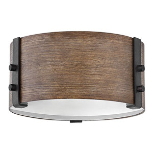 Sawyer Sequoia Two-Light LED Outdoor Flush Mount