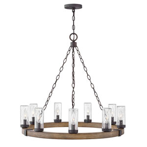 Sawyer Sequoia Nine-Light LED Outdoor Chandelier