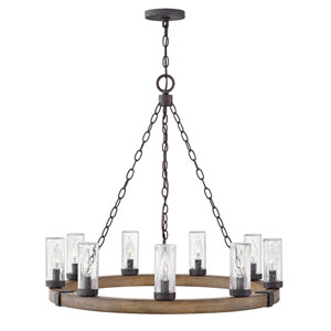 Sawyer Sequoia Nine-Light LED Outdoor Pendant