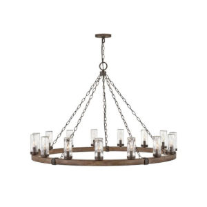 Sawyer Sequoia 15-Light Led Outdoor Chandelier
