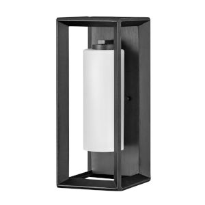 Rhodes Brushed Graphite 17-Inch One-Light Outdoor Wall Mount