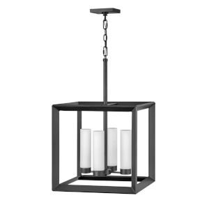 Rhodes Brushed Graphite Four-Light Outdoor Pendant