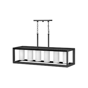 Rhodes Brushed Graphite Six-Light Outdoorpendant