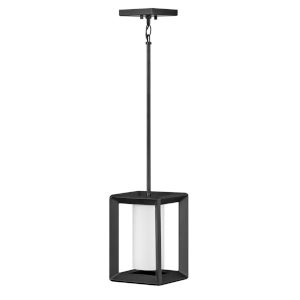 Rhodes Brushed Graphite One-Light Outdoor Pendant