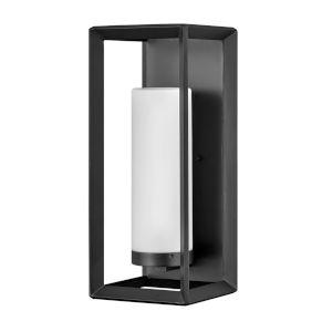 Rhodes Brushed Graphite 22-Inch One-Light Outdoor Wall Mount