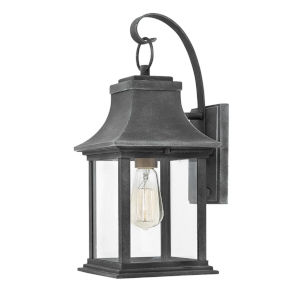 Adair Aged Zinc One-Light Outdoor Wall Mount