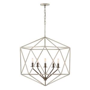 Astrid Metallic Matte Bronze Five-Light Chandelier