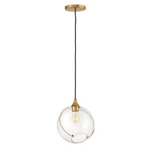 Skye Heritage Brass One-Light Pendant