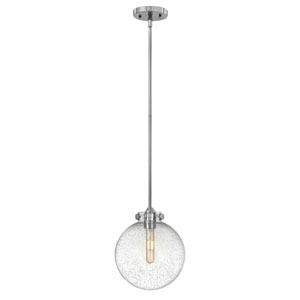 Congress Chrome 10-Inch One-Light Pendant