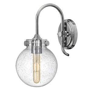 Congress Chrome Seven-Inch One-Light Sconce