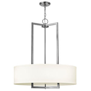 Hampton Antique Nickel LED Pendant