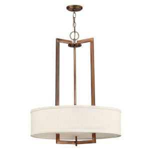 Hampton Brushed Bronze LED Pendant