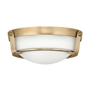 Hathaway Heritage Brass 13-Inch LED Flush Mount