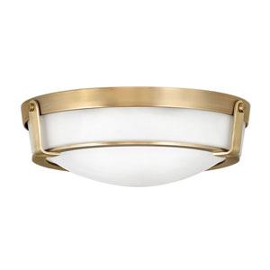 Hathaway Heritage Brass 16-Inch LED Flush Mount