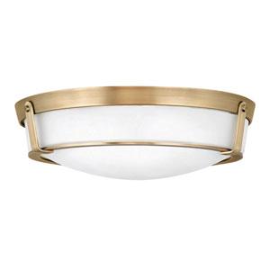 Hathaway Heritage Brass Four-Light Flush Mount