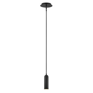 Jax Black Integrated Led Mini Pendant