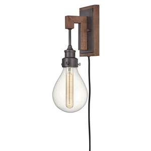 Denton Industrial Iron One-Light Sconce
