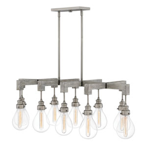 Denton Pewter 10-Light Island Pendant
