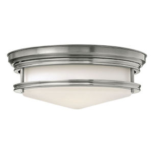 Hadley Antique Nickel LED Flush Mount