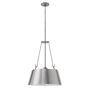 Cartwright Polished Nickel 20-Inch Three-Light Pendant