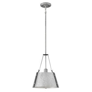 Cartwright Galvanized 12-Inch One-Light Pendant